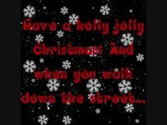 "Holly Jolly Christmas Lyrics - Burl Ives - ""kiss her once for me! Christmas Songs Lyrics, Classic Christmas Songs, Christmas Playlist, Favorite Christmas Songs, Christmas Tunes, My Favorite Music, Christmas Videos, Merry Christmas Everyone, Christmas Carol"