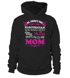 Electrician Shirt Mom Mother's Day   => Check out this shirt by clicking the image, have fun :) Please tag, repin & share with your friends who would love it. #mothers #mom #grandma #hoodie #ideas #image #photo #shirt #tshirt #sweatshirt #tee #gift #perfectgift #birthday #Christmas