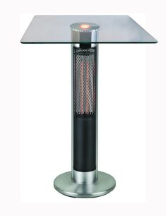 Bar Table Heater Led Lights For Sale, Bar Height Table, Glass Bar, Disco Lights, Patio Heater, Radiant Heat, Home Comforts, Extruded Aluminum, Wall Outlets