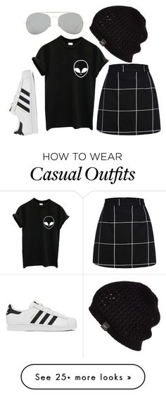 """filthy casuals -12"" by stormfront on Polyvore featuring adidas, UGG Australia, Acne Studios, women's clothing, women's fashion, women, female, woman, misses and juniors"