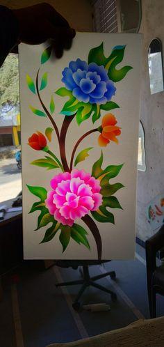 Glass Etching Designs, Glass Painting Designs, Paint Designs, Fancy Mirrors, Window Glass Design, Ganesha Tattoo, Glass House, Glass Doors, Handmade Crafts