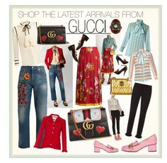 """SHOP THE LATEST FROM GUCCI"" by iamjodiemaxx ❤ liked on Polyvore featuring Gucci"