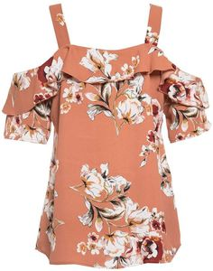Pretty Clothes, Pretty Outfits, Cute Outfits, Tube Top Outfits, Floral Tops, Floral Prints, Summer Looks, Playing Dress Up, Jewlery
