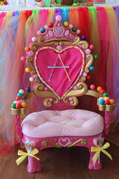 Candy Art...By Artist Unknown... CandyLand Chair...