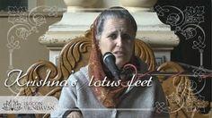 Lord Krishna's Lotus Feet (video) Srimad Bhagavatam class by H.G.Rukmini Mataji in ISKCON Vrindavan, 26.11.2017.