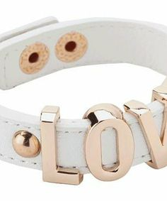 BCBGeneration Love Affirmation Bracelet #accessories  #jewelry  #bracelets  https://www.heeyy.com/suggests/bcbgeneration-love-affirmation-bracelet-white-rose-gold/