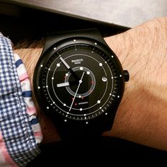 Swatch SISTEM BLACK ©thesamsheppard