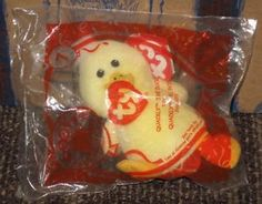 2009 Ty Teenie Beanie McDonalds Happy Meal Toy - Quackly the Duck  7 4d1b152331ec
