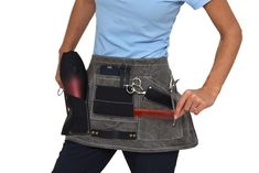 #Hairdresser apron 7 points for professional use