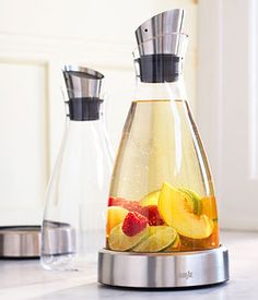 Glass Chiller Carafe from Sur La Table ~ Would love this for my cucumber water!