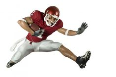 Football Runner with Crowd. American football player in action with ball , Sports Wall Decals, American Football Players, Athletic Training, Most Powerful, Football Helmets, Recovery, Therapy, Workout, Electromagnetic Field