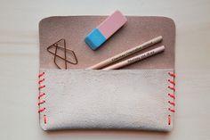 DIY Leather Pencil Case Tutorial