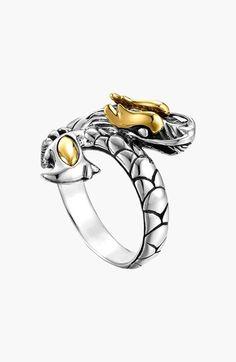 John Hardy 'Naga' Dragon Ring available at #Nordstrom