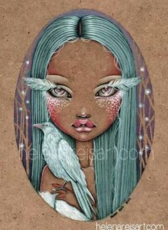 White Crow Medicine ~ by Helena Reis. * Good Morning Everyone~ Have a beautiful day. <3 S.C.