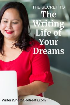 The Secret to the Writing Life of Your Dreams -- Tips for creating a writing life you love. Writing tips, writing inspiration, writing life, write Make Money Writing, Writing Advice, Writing Resources, Writing A Book, Writing Ideas, Writing Quotes, Writing Skills, English Writing, Writing Process