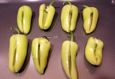 Kelley Maria: Spicy Stuffed Yellow Chili Peppers