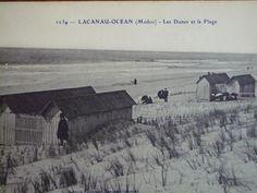 Plage de Lacanau Océan : Thalasso sur la plage 1910 - 1940 LacanauOcean.com