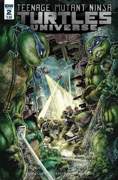 IDW PUBLISHING (W) Paul Allor & Various (A) Damian Couceiro & Various (CA) Freddie Williams The Turtles are trapped and surrounded by the government. With them? One of their least favorite people in t
