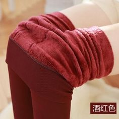 Women winter high stretch leggings new arrival skinny warm trousers female high waist wild thick leggings 5-colors S2647