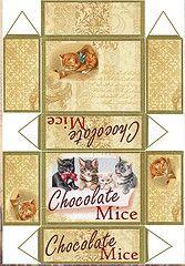 Chocolate mice recortable