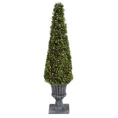 Outdoor Topiary Trees With Lights Two 36 artificial wide boxwood in outdoor topiary tree plant shining with led lights our cone shaped boxwood bush makes the perfect low maintenance plant this artificial topiary tree creates a lovely display by your workwithnaturefo