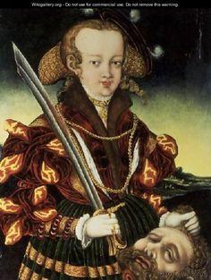 Judith - Lucas The Younger Cranach