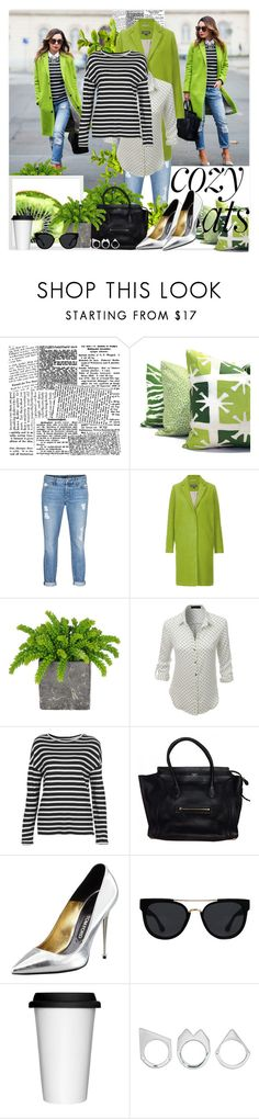 """M comme Mode de vie !!! 08"" by vicky-soleil ❤ liked on Polyvore featuring Koral, Topshop, LE3NO, Tom Ford, Quay, Sagaform and Moratorium"