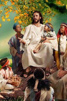 """"""" Jesus loves the little children! All the children of the world! """""""