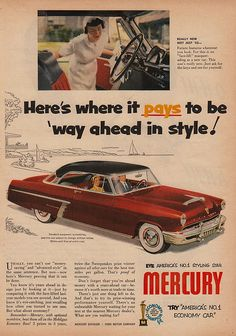 Ford Mercury 1952