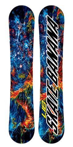 Lib Tech Skate Banana Snowboard Blue 2016