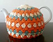 Crochet Tea Pot Cozy Custom Colors Available