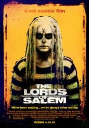 """The Lords of Salem        The Lords of Salem      Gospodari Salema  Ocena:  5.10  Žanr:  Horror Thriller  """"We've been waiting ... we've always been waiting.""""Heidi a blond rock chick DJs at a local radio station and together with the two Hermans (Whitey and Munster) forms part of the """"Big H Radio Team."""" A mysterious wooden box containing a vinyl record arrives for Heidi a gift of the Lords. She assumes it's a rock band on a mission to spread their word. As Heidi and Whitey play the Lords'…"""