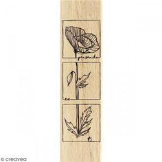 Sello de madera Pensando en ti - Fotografía n°1