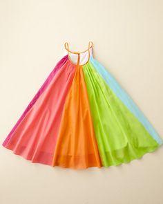 Rainbow Twirl Dress by Halabaloo - Girls