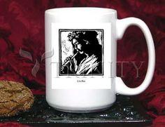 Coffee-Tea Mug (15 oz) - St. Cecilia by J. Lonneman   Trinity Stores