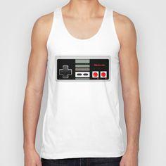 Classic retro game  Unisex Tank top #tshirt @Society6 #tanktop  #Classic #retro #Nintendo #game #controller #gameboy #vintage #gamers