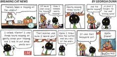 Breaking Cat News by Georgia Dunn for Oct 22, 2017 | Read Comic Strips at GoComics.com