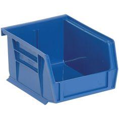 1.15-Qt. Stackable Plastic Storage Bin in Blue (24-Pack)  sc 1 st  Pinterest & HULK BINS - Quantum HULK Bins - 24