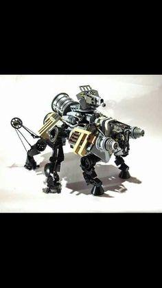 Lego Steampunked.