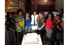 Uche Jombo celebrates birthday in style