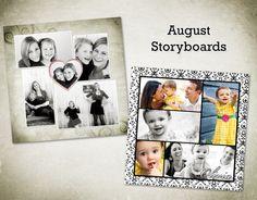 sarah gourdie designs | August storyboards