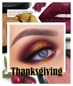 """Thanksgiving Beauty"" by cultofsharon ❤ liked on Polyvore featuring beauty, Lime Crime, Gucci, Pat McGrath and Bobbi Brown Cosmetics"