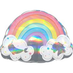 Giant Magical Rainbow Balloon 28in x 20in | Party City