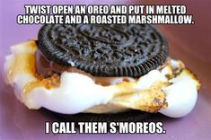Smoreos. This is a brilliant ideas