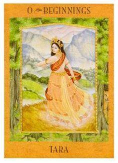 The Goddess Tarot Deck--Beginnings