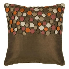 I pinned this Button Pillow in Brown from the Connect the Dots event at Joss and Main!