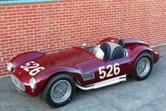 1954 Maserati A6 GCS  Eligible For the World's Premier Concours, Race and Rally Events, Including the Mille Miglia.