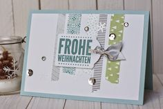 { Conibaers creative desk }: First christmas-card this year #stampinup