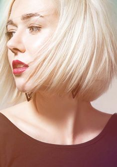 36 Chin Length Short Blonde Haircuts for Girls 2018