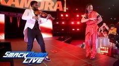 Two-time NXT Champion Shinsuke Nakamura debuts on SmackDown LIVE: SmackD...